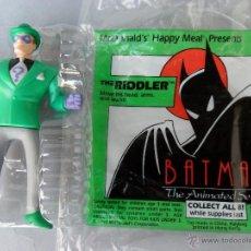 Figuras y Muñecos DC: RIDLER BATMAN THE ANIMATED SERIES MCDONALDS DC COMICS 1993. Lote 40706852