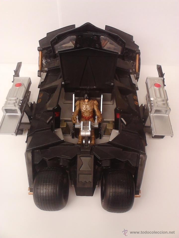 BATMOBILE BAT MOBIL COCHE VEHÍCULO BATMAN (Juguetes - Figuras de Acción - DC)
