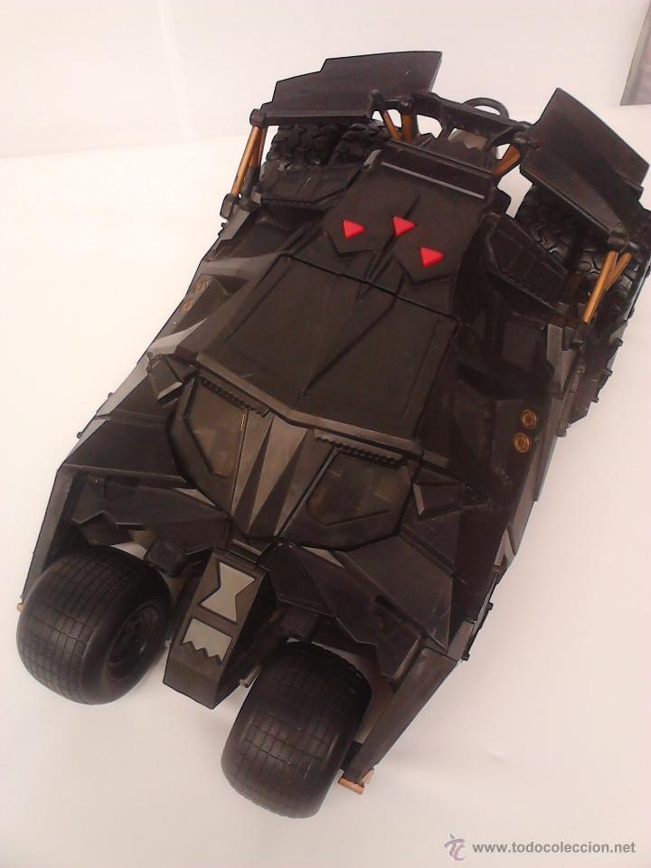 Figuras y Muñecos DC: batmobile bat mobil coche vehículo batman - Foto 2 - 182811190