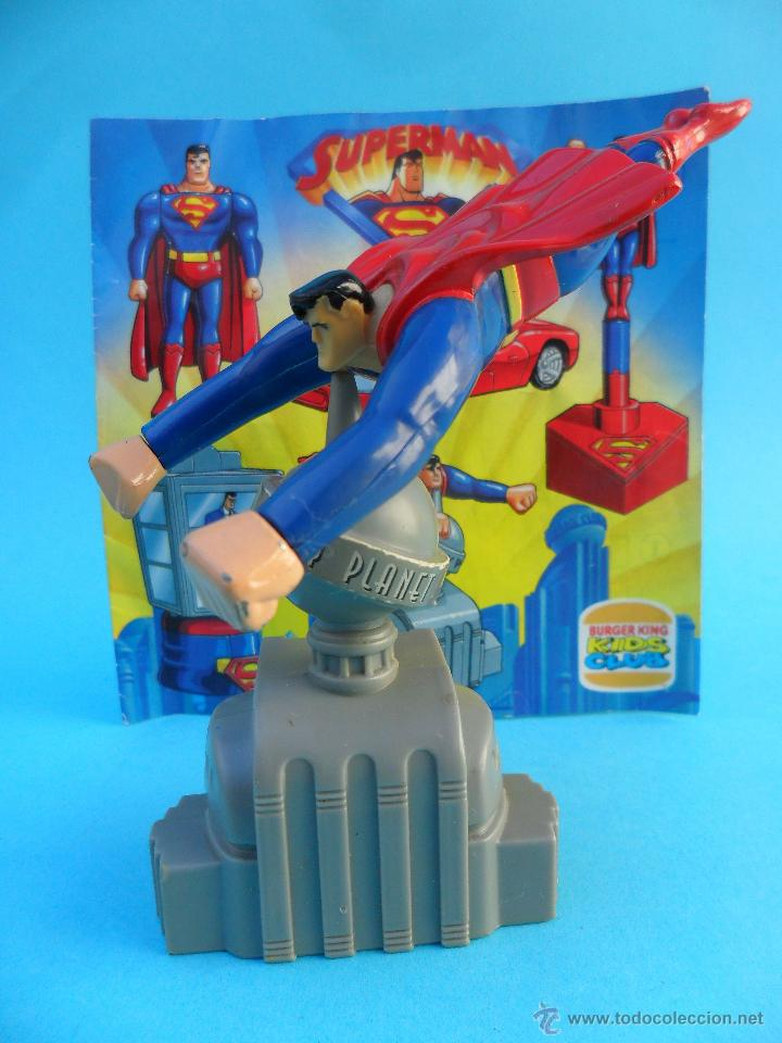 SUPERMAN THE ANIMATED SERIES BURGER KING 1997 (Juguetes - Figuras de Acción - DC)