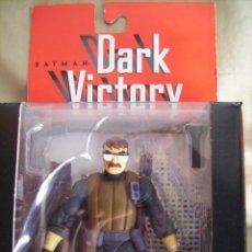 Figuras y Muñecos DC: COMISARIO GORDON - BATMAN DARK VICTORY - DESCATALOGADÍSIMA - JOKER - DC - SIMILAR MARVEL LEGENDS. Lote 47026225