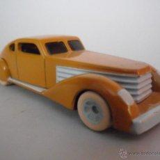 Figuras y Muñecos DC: BATMAN ANIMATED SERIES DIE-CAST METAL BRUCE WAYNE´S CAR BY ERTL 1993. Lote 48664664