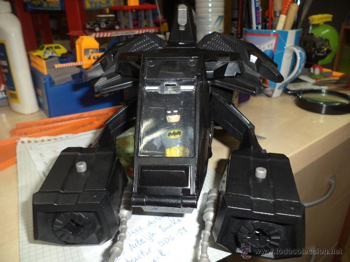 Figuras y Muñecos DC: Batcopter.Mattel-DC.Helicóptero de Batman. - Foto 2 - 53579205