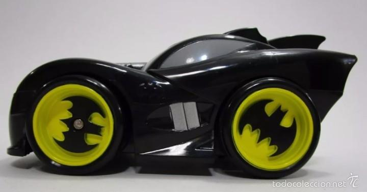 CARRO AUTO BATMAN BATIMOVIL BATMOBILE COLECCION 2007 TM DC COMICS 16CM RAREZA (Juguetes - Figuras de Acción - DC)