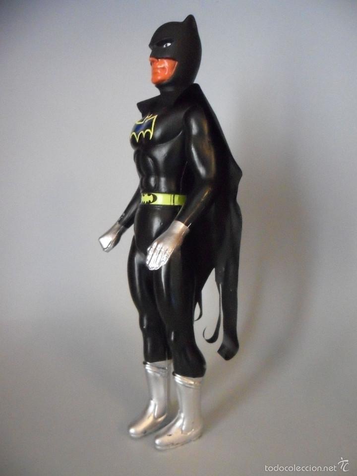 Figuras y Muñecos DC: ANTIGUA FIGURA DE BATMAN BOOTLEG DE PLASTICO SOPLADO DE 25 CM - Foto 3 - 58226214