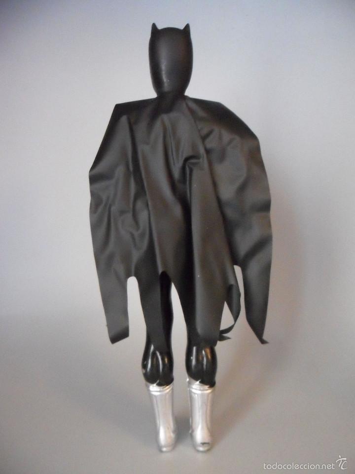 Figuras y Muñecos DC: ANTIGUA FIGURA DE BATMAN BOOTLEG DE PLASTICO SOPLADO DE 25 CM - Foto 4 - 58226214