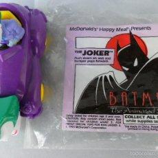 Figuras y Muñecos DC: JOKER BATMAN THE ANIMATED SERIES MCDONALDS DC COMICS 1993. Lote 58226270