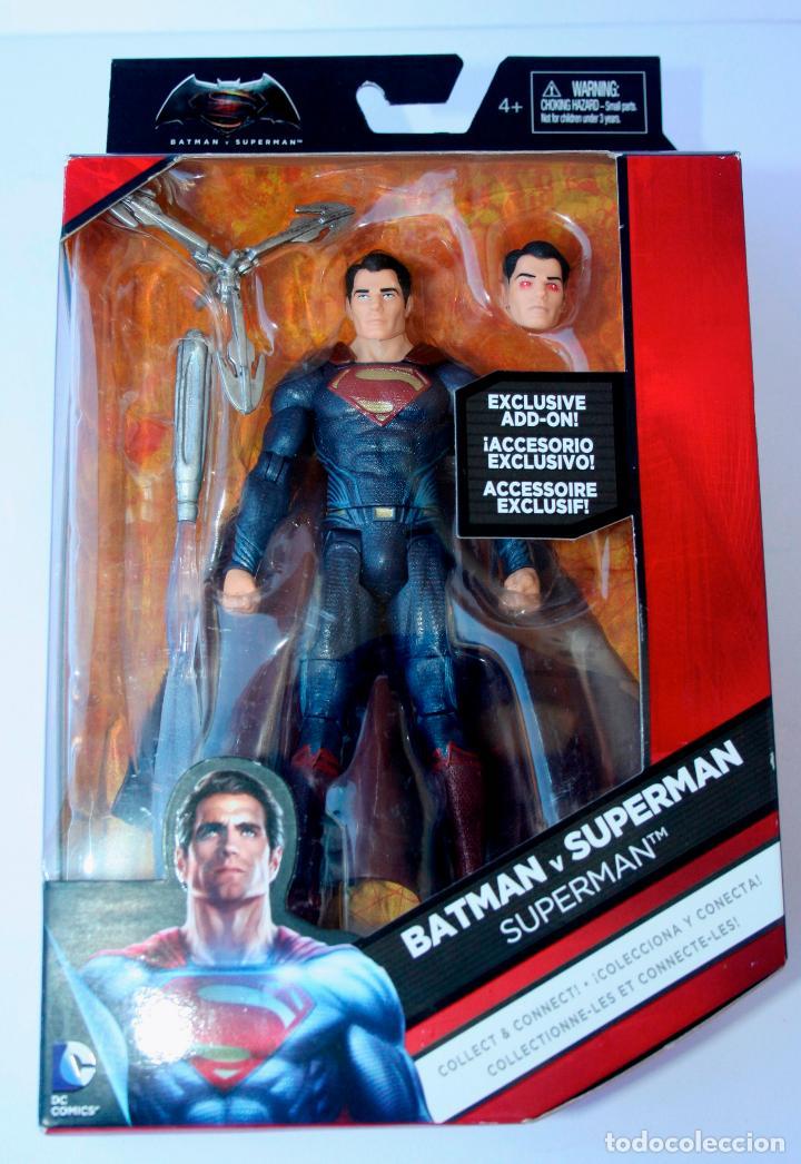 DC MULTIVERSE COMICS MATTEL - BATMAN VS SUPERMAN - SUPERMAN (Juguetes - Figuras de Acción - DC)