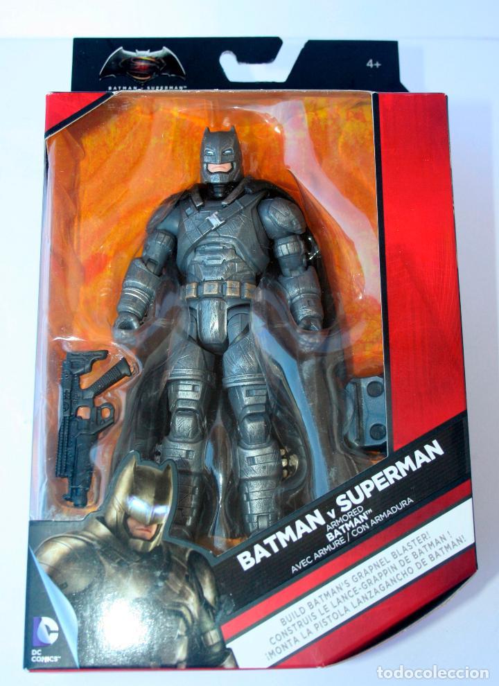 DC MULTIVERSE COMICS MATTEL - BATMAN VS SUPERMAN ARMORED BATMAN ARMADURA ARMURE (Juguetes - Figuras de Acción - DC)