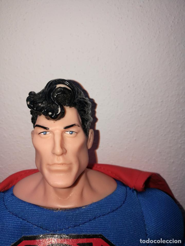 Figuras y Muñecos DC: SUPERMAN - MUÑECO SUPERMAN DE PLASTICO Y FIBRA DE POLYESTER, PARK WARNER BROS, MIDE 35 CM!!! SBB - Foto 4 - 64891811