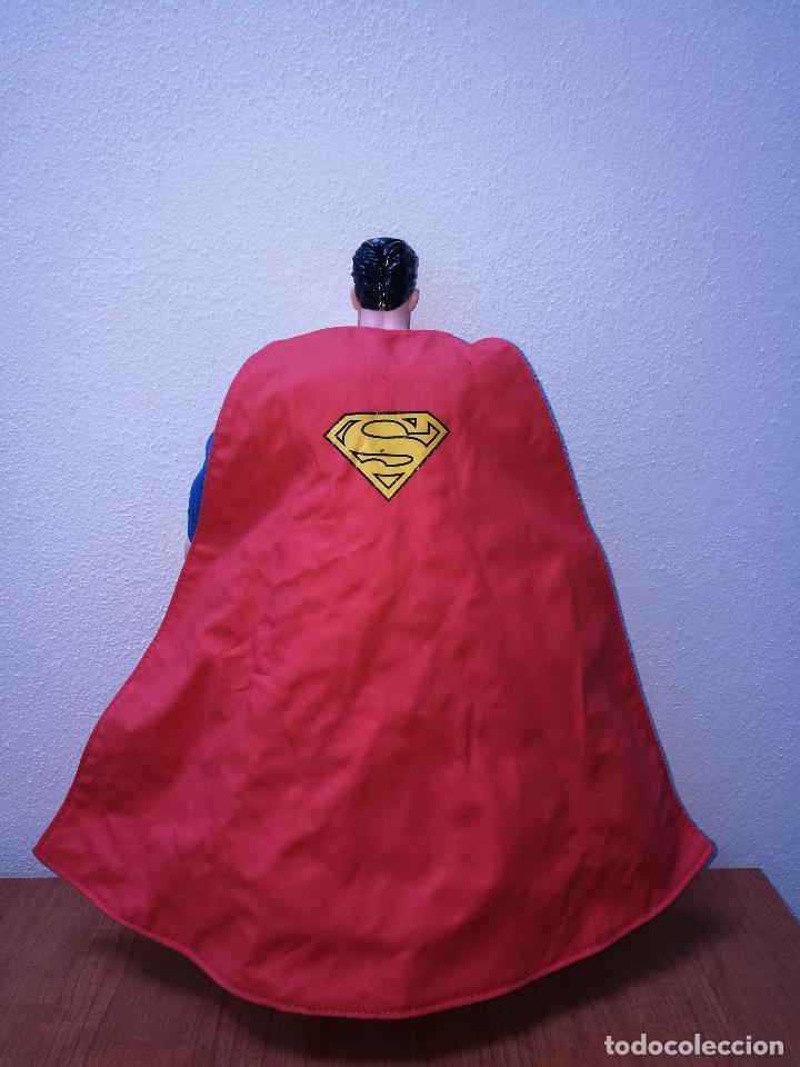 Figuras y Muñecos DC: SUPERMAN - MUÑECO SUPERMAN DE PLASTICO Y FIBRA DE POLYESTER, PARK WARNER BROS, MIDE 35 CM!!! SBB - Foto 6 - 64891811