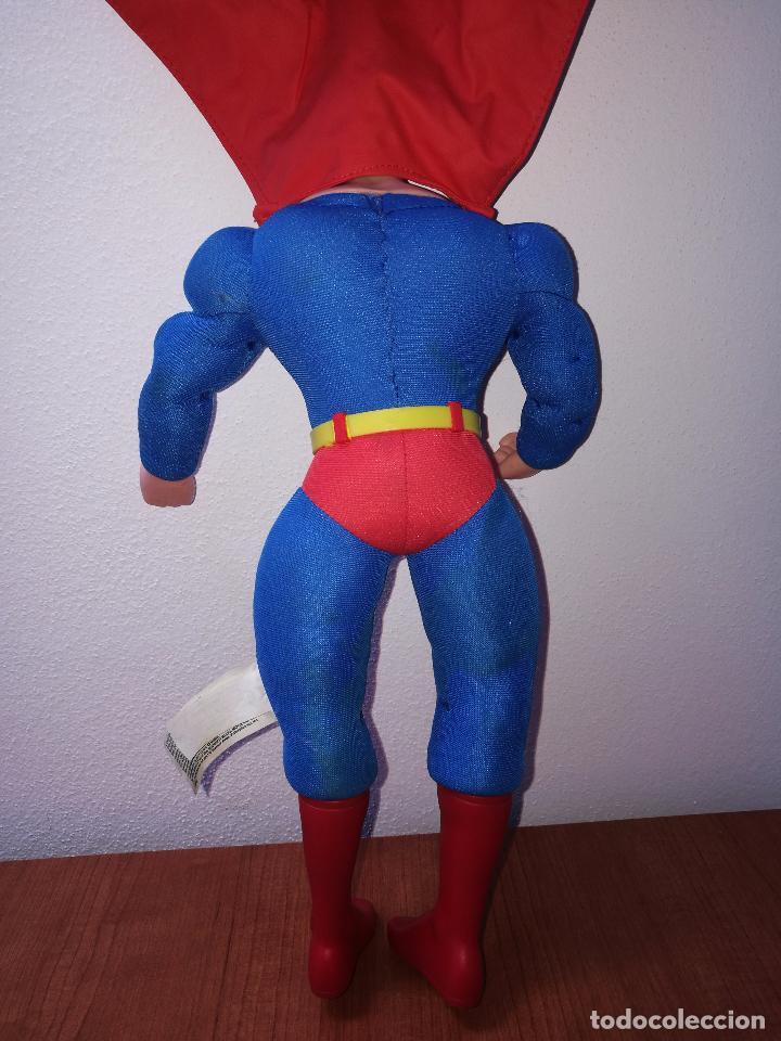 Figuras y Muñecos DC: SUPERMAN - MUÑECO SUPERMAN DE PLASTICO Y FIBRA DE POLYESTER, PARK WARNER BROS, MIDE 35 CM!!! SBB - Foto 7 - 64891811
