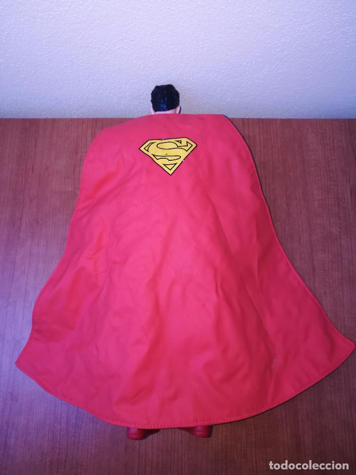 Figuras y Muñecos DC: SUPERMAN - MUÑECO SUPERMAN DE PLASTICO Y FIBRA DE POLYESTER, PARK WARNER BROS, MIDE 35 CM!!! SBB - Foto 10 - 64891811