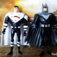 Figuras y Muñecos DC: LOTE FIGURAS DC SUPERMAN Y BATMAN JLU. Lote 66296058