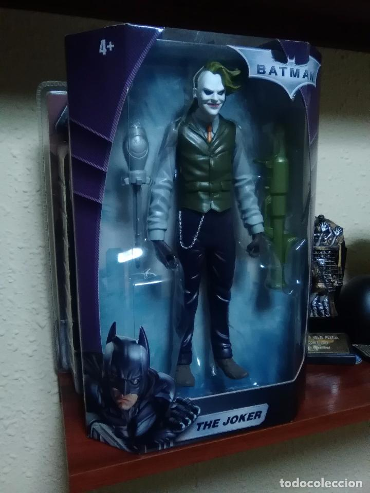 Figuras y Muñecos DC: JOKER - THE DARK KNIGHT - EL CABALLERO OSCURO - MATTEL 2008 ¡NUEVA A ESTRENAR! - Foto 4 - 28321259