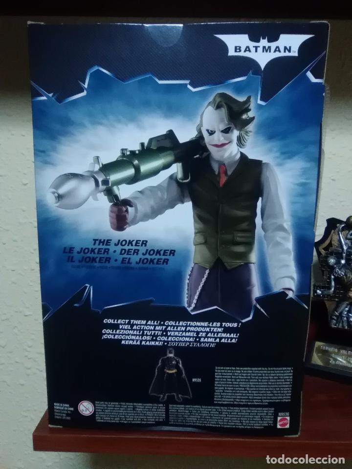 Figuras y Muñecos DC: JOKER - THE DARK KNIGHT - EL CABALLERO OSCURO - MATTEL 2008 ¡NUEVA A ESTRENAR! - Foto 6 - 28321259