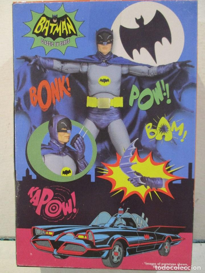 Figuras y Muñecos DC: BATMAN - ADAM WEST - SIN ABRIR - SERIE CLASICA TV - Foto 2 - 170915998