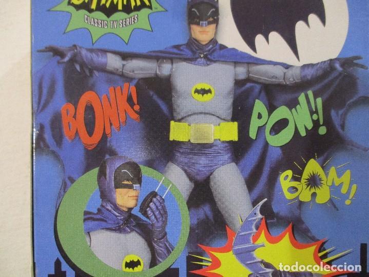 Figuras y Muñecos DC: BATMAN - ADAM WEST - SIN ABRIR - SERIE CLASICA TV - Foto 3 - 170915998