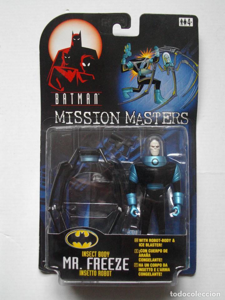 FIGURA BATMAN MISSION MASTERS - MR. FREEZE INSECT BODY - 1998 - HASBRO - NUEVA (Juguetes - Figuras de Acción - DC)