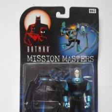 Figuras y Muñecos DC: FIGURA BATMAN MISSION MASTERS - MR. FREEZE INSECT BODY - 1998 - HASBRO - NUEVA. Lote 74340623