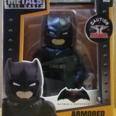 Figuras y Muñecos DC: DC COMICS BATMAN V SUPERMAN ARMORED BATMAN DIE-CAST FIGURA DE METAL. Lote 76594435