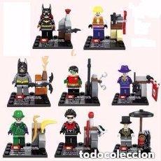 Figurines et Jouets DC: 8 FIGURAS DE SUPERHEROES (NUEVO) LOTE 15. Lote 80803087