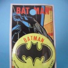 Figuras y Muñecos DC: VINTAGE 1989 BATMAN BADGE DC COMICS. Lote 82987348