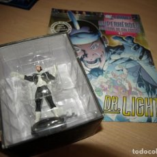 Figuras y Muñecos DC: FIGURA DE PLOMO - DR. LIGHT - DC COMIC - SUPERHEROES - FIGURAS DE COLECCIÓN - CON FASCICULO. Lote 91159375