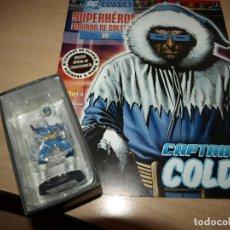 Figuras y Muñecos DC: FIGURA DE PLOMO - CAPTAIN COLD - DC COMIC - SUPERHEROES - FIGURAS DE COLECCIÓN - CON FASCICULO. Lote 91161965