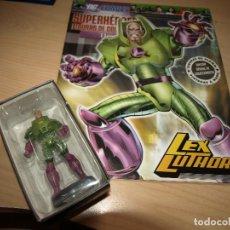 Figuras y Muñecos DC: FIGURA DE PLOMO - LEX LUTHOR - DC COMIC - SUPERHEROES - FIGURAS DE COLECCIÓN - CON FASCICULO. Lote 91171380