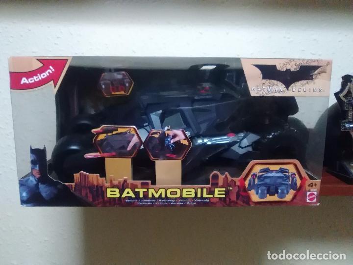 BATMAN BEGINS - BATMOBILE - TUMBLER - ACRÓBATA - MATTEL - NUEVO (Juguetes - Figuras de Acción - DC)