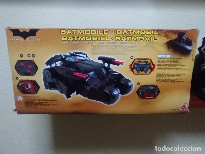 Figuras y Muñecos DC: BATMAN BEGINS - BATMOBILE - TUMBLER - ACRÓBATA - MATTEL - NUEVO - Foto 5 - 63131460