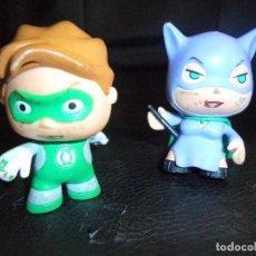 Figuras y Muñecos DC: GREEN LANTERN & CATWOMAN - DC SUPERHEROES - FIGURA PVC - . Lote 102005487