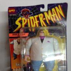 Figuras y Muñecos DC: MASTERS LOTE GIGANTE KINGPIN BLISTER REY VILLANO SPIDERMAN REY CRIMEN TOY BIZ AÑOS 90 ANIMATE . Lote 105551551
