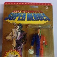 Figuras y Muñecos DC: MASTERS LOTE BLISTER PRECINTADO DOS 2 CARAS VILLANO BATMAN DC 1990 SPIDERMAN SUPERMAN. Lote 105554883