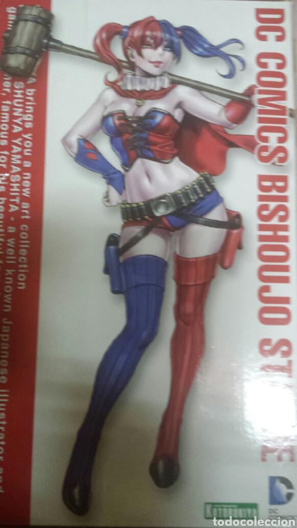 Figuras y Muñecos DC: Dc batman bishoujo figura harley queen new 52.nueva.dificil - Foto 3 - 108346176