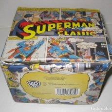 Figuras y Muñecos DC: BONITA CAJA PARA TAZA , COMIC SUPERMAN CLASSIC . DC COMICS . SOLO CAJA 11/8/10CM. Lote 110828635