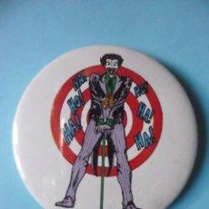 Figuras y Muñecos DC: VINTAGE SUPER POWERS BUTTON RAINBOW DESIGNS JOKER DC COMICS INC 1966. Lote 113223951