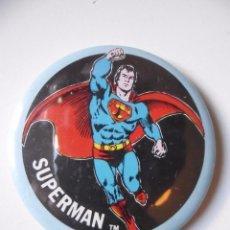 Figuras y Muñecos DC: VINTAGE SUPER POWERS BUTTON RAINBOW DESIGNS SUPERMAN DC COMICS INC 1978 . Lote 113224287