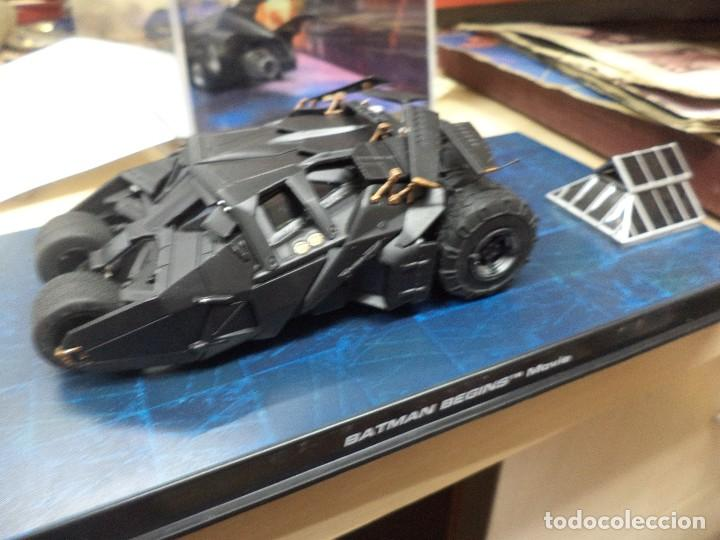 BATMOBILE ALTAYA ESC.1/43.BATMAN BEGINS MOVIE. (Juguetes - Figuras de Acción - DC)