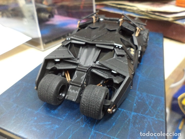 Figuras y Muñecos DC: Batmobile Altaya esc.1/43.Batman begins movie. - Foto 2 - 113710827