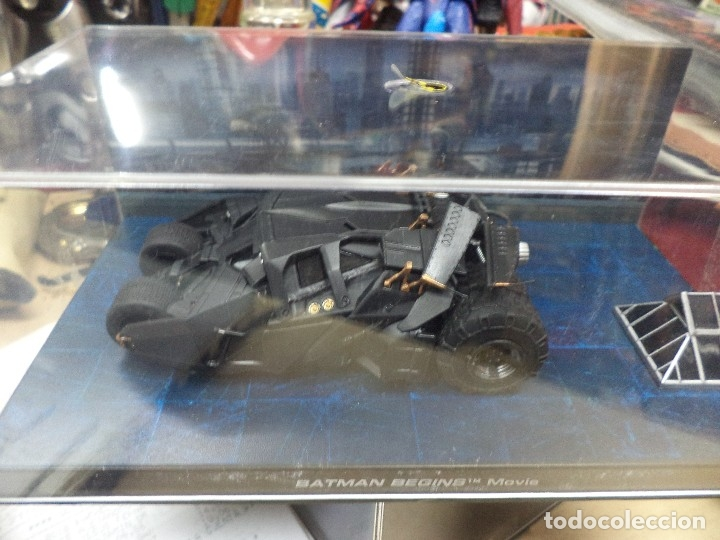 Figuras y Muñecos DC: Batmobile Altaya esc.1/43.Batman begins movie. - Foto 4 - 113710827