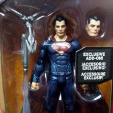 Figuras y Muñecos DC: BATMAN VS SUPERMAN MULTIVERSE SUPERMAN 6 PULGADAS FIGURA DE LA PELICULA CON ACCESORIO EXCLUSIVO DC. Lote 55657455