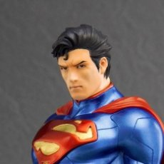 Figuras y Muñecos DC: FIGURA ESTATUA SUPERMAN ESCALA 1:10 DC JUSTICE LEAGUE. Lote 114851003