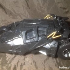 Figuras y Muñecos DC: BATMOVIL MATTEL 2008 DARK KNIGHT STEALTH LAUNCH CON BAT-POD JUGADO. Lote 115083015