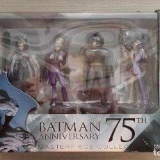 Figuras y Muñecos DC: BATMAN ANNIVERSARY 75 BOX SET 4 FIGURAS + BATMAN ESPECIAL 75 AÑOS (EAGLEMOSS MASTERPIECE COLECCTION). Lote 115245647