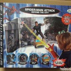 Figuras y Muñecos DC: SPIDERMAN 3 ATTACK DEFEND THE CITY IMC TOYS NUEVO A ESTRENAR! . Lote 116824711