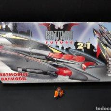 Figuras y Muñecos DC: BATMOVILE HASBRO BATMAN DEL FUTURO,BATMAN OF THE FUTURE2 EN 1 BATMOVIL BATMOBIL. Lote 116834290