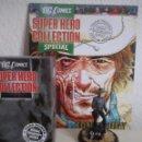 Figuras y Muñecos DC: JONAH HEX FIGURA DE PLOMO DC SUPER HERO COLLECTION ESPECIAL , CON CAJA Y REVISTA. Lote 117068847