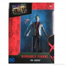 Figuras y Muñecos DC: ESCUADRÓN SUICIDA FIGURA MALEABLE THE JOKER. Lote 117344559